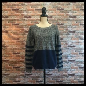 Madewell Wallace Mixer Striped Sweater